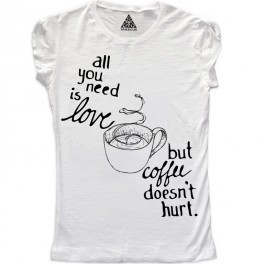 W All you is love but coffee doesn't hurt