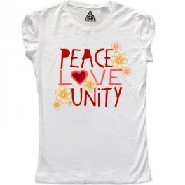 W Peace Love Unity
