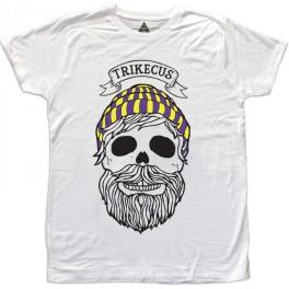 M Beard skull